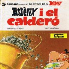 Cómics: DARGAUD ASTERIX I EL CALDERO - GOSCINNY - UDERZO - GRIJALBO 1982 - CATALAN. Lote 47632520