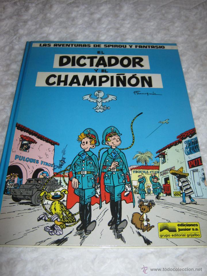 LAS AVENTURAS DE SPIROU Y FANTASIO - EL DICTADOR Y EL CHAMPIÑON N. 6 (Tebeos y Comics - Grijalbo - Spirou)