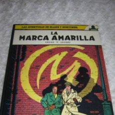 Cómics: LAS AVENTURAS DE BLAKE Y MORTIMER - LA MARCA AMARILLA N. 3. Lote 47734676