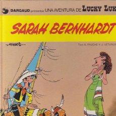 Cómics: COMIC LUCKY LUKE SARAH BERNHARDT CATALA. Lote 47774915