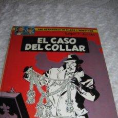 Cómics: LAS AVENTURAS DE BLAKE Y MORTIMER - EL CASO DEL COLLAR- N. 7. Lote 87659138
