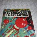 Cómics: LAS AVENTURAS DE BLAKE Y MORTIMER -EL ENIGMA DE LA ATLANTIDA - N. 4. Lote 155340349