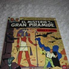 Cómics: LAS AVENTURAS DE BLAKE Y MORTIMER - EL MISTERIO DE LA GRAN PIRAMIDE - 1 PARTE - N. 1. Lote 94551358