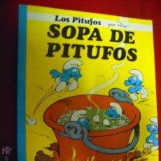 Cómics: SOPA DE PITUFOS - LOS PITUFOS 8 - PEYO - RUSTICA. Lote 47812024