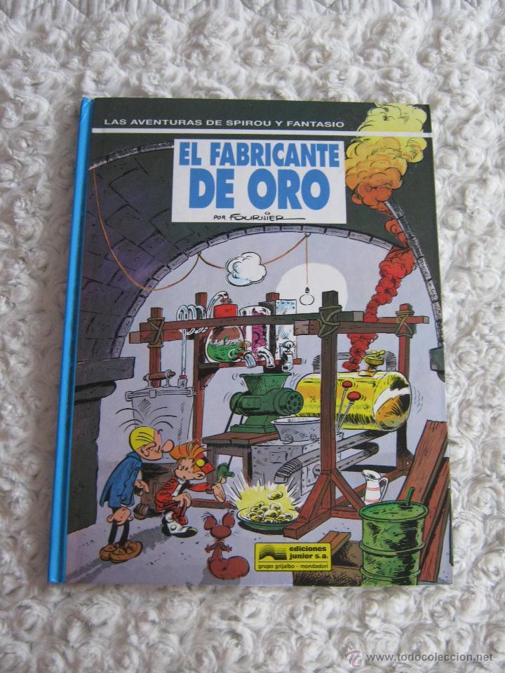 LAS AVENTURAS DE SPIROU Y FANTASIO - EL FABRICANTE DE ORO N. 33 (Tebeos y Comics - Grijalbo - Spirou)