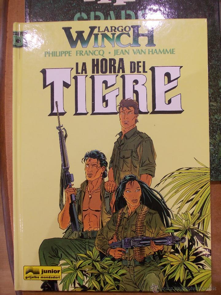 LARGO WICH-LA HORA DEL TIGRE-EDICIONES JUNIOR-GRIJALBO- (Tebeos y Comics - Grijalbo - Largo Winch)