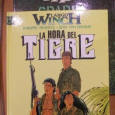 Cómics: LARGO WICH-LA HORA DEL TIGRE-EDICIONES JUNIOR-GRIJALBO-. Lote 47818451