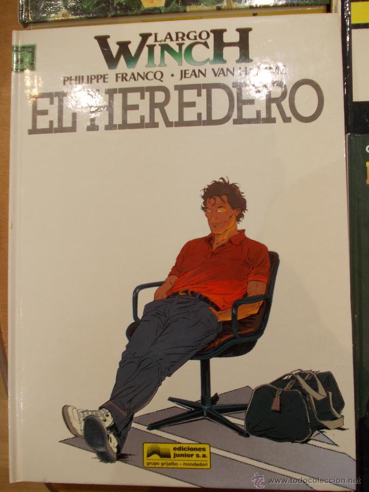 LARGO WICH-EL HEREDERO-EDICIONES JUNIOR-GRIJALBO- (Tebeos y Comics - Grijalbo - Largo Winch)