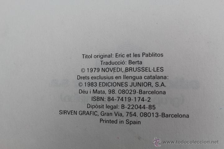Cómics: L 1407- ERIC CASTEL. NUMEROS 1 Y 2. RAYMOND REDING-FRANÇOISE HUGUES. EDICIONES JUNIOR-GRIJALBO. 1985 - Foto 3 - 49171672