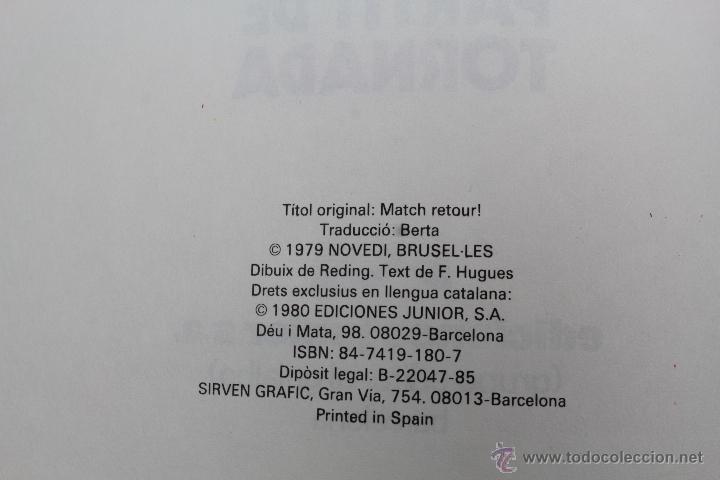 Cómics: L 1407- ERIC CASTEL. NUMEROS 1 Y 2. RAYMOND REDING-FRANÇOISE HUGUES. EDICIONES JUNIOR-GRIJALBO. 1985 - Foto 7 - 49171672