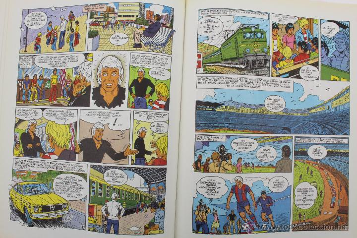 Cómics: L 1407- ERIC CASTEL. NUMEROS 1 Y 2. RAYMOND REDING-FRANÇOISE HUGUES. EDICIONES JUNIOR-GRIJALBO. 1985 - Foto 9 - 49171672