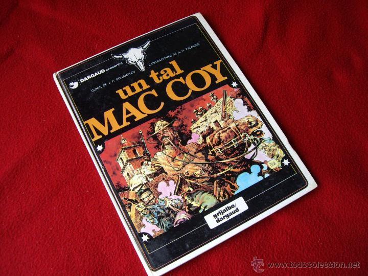 COMIC : UN TAL MAC COY ( PASTAS DURAS ) - GRIJALBO / DARGAUD 1981 (Tebeos y Comics - Grijalbo - Blueberry)