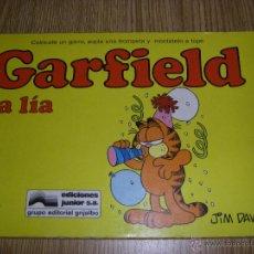 Cómics: GARFIELD LA LIA Nº 13 JIM DAVIS - EDICIÓNES JUNIOR - GRUPO GRIJALBO-MONDADORI. Lote 47996177