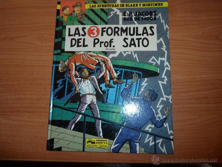 BLAKE Y MORTIMER Nº 12 - LAS 3 FORMULAS DEL PROFESOR SATO PARTE 2 - TAPA DURA GRIJALBO 1991 (Tebeos y Comics - Grijalbo - Blake y Mortimer)