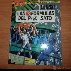 Cómics: BLAKE Y MORTIMER Nº 12 - LAS 3 FORMULAS DEL PROFESOR SATO PARTE 2 - TAPA DURA GRIJALBO 1991. Lote 48275630