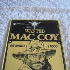 Cómics: MAC COY - WANTED N. 5. Lote 48303784