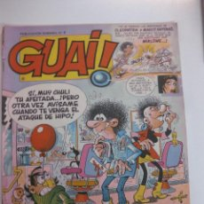 Comics: LOTE DE 8 TEBEOS GUAI ! (Nº 1 AL Nº 8). EDICIONES JUNIOR 1986.. Lote 48320481