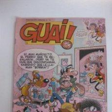 Cómics: GUAI ! - LOTE DE 7 TEBEOS GUAI !... (NUMEROS 8 A 14). EDICIONES JUNIOR 1986.. Lote 48320551
