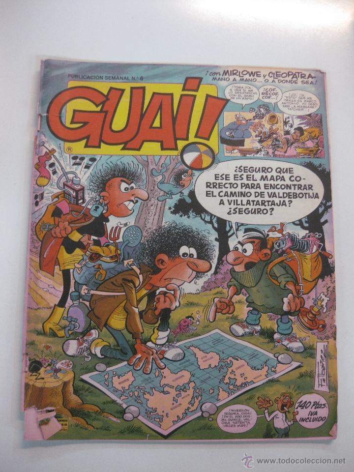 LOTE DE 10 TEBEOS GUAI !... (NUMEROS 40,43,45,47,56,64,69,72,83,,93,). EDICIONES JUNIOR 1986 (Tebeos y Comics - Grijalbo - Otros)