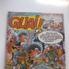 Cómics: LOTE DE 10 TEBEOS GUAI !... (NUMEROS 40,43,45,47,56,64,69,72,83,,93,). EDICIONES JUNIOR 1986. Lote 48320646