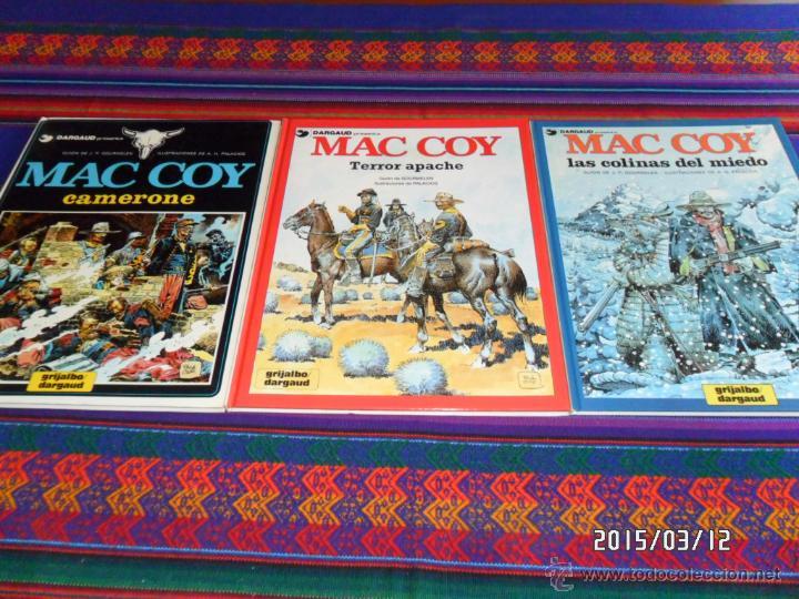 MAC COY NºS 3 4 5 6 7 10 11 13 14 17 18 19 21. GRIJALBO 1980 LOS DIFÍCILES REGALO Nº 1 2 EN FRANCÉS. (Tebeos y Comics - Grijalbo - Mac Coy)