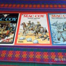 Cómics: MAC COY NºS 3 4 5 6 7 10 11 13 14 17 18 19 21. GRIJALBO 1980 LOS DIFÍCILES REGALO Nº 1 2 EN FRANCÉS.. Lote 48353825
