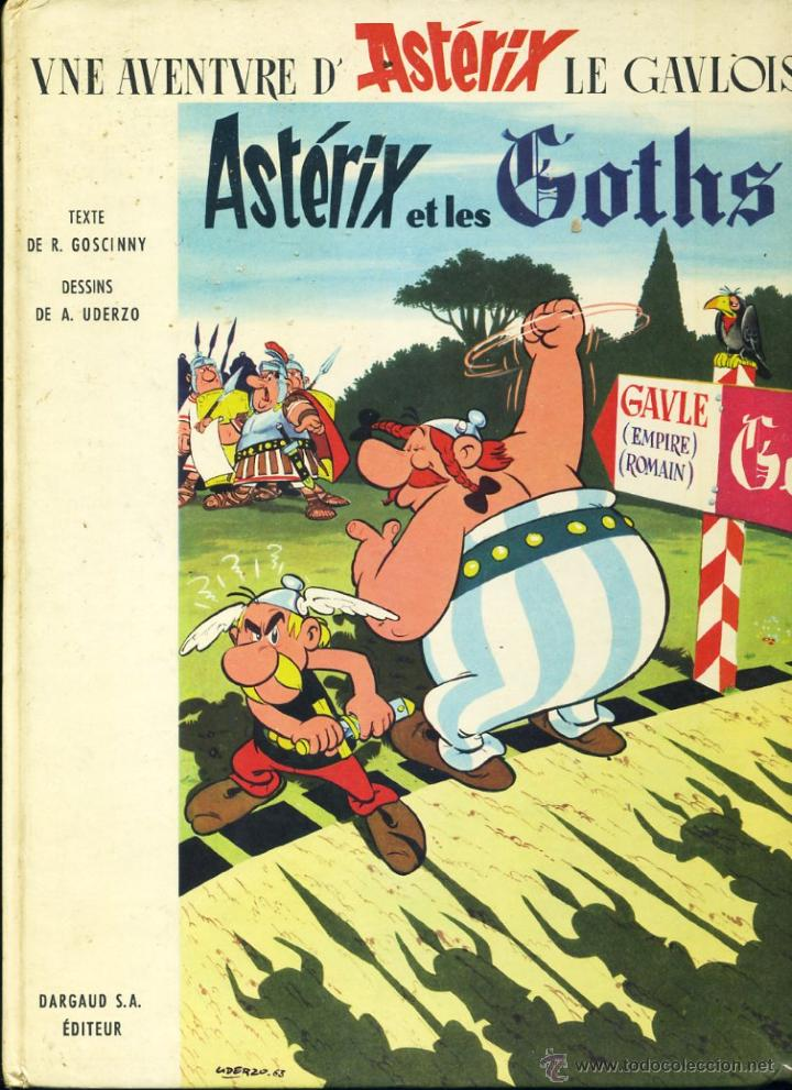 ASTÉRIX ET LES GHOTS. DARGAUD ÉDITEUR DE 1963 EN PERFECTO ESTADO (Tebeos y Comics - Grijalbo - Asterix)