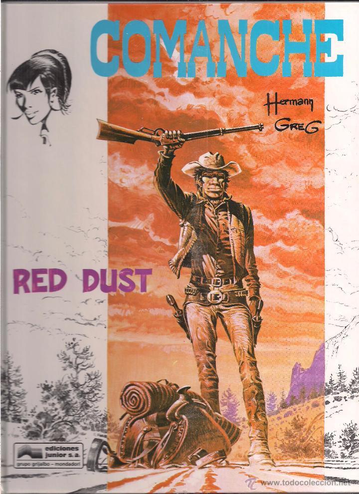 COMANCHE NUMERO 01: RED DUST (Tebeos y Comics - Grijalbo - Comanche)