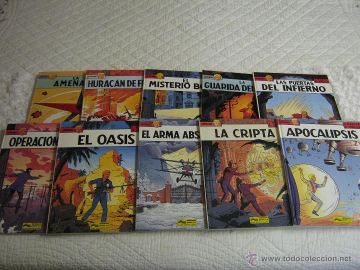 LEFRANC- COLECCION COMPLETA DE 10 NUMEROS GRIJALBO (Tebeos y Comics - Grijalbo - Lefranc)