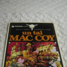 Cómics: MAC COY - UN TAL MAC COY N. 2. Lote 48643267