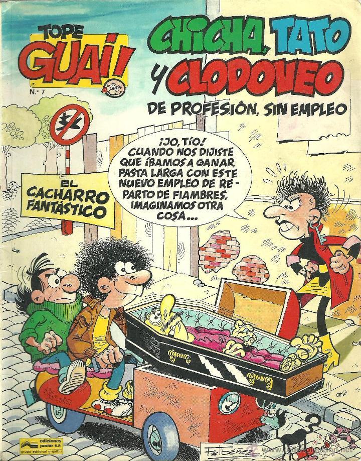TEBEO Nº7 CHICHA, TATO Y CLODOVEO- EL CACHARRO FANTÁSTICO (Tebeos y Comics - Grijalbo - Otros)
