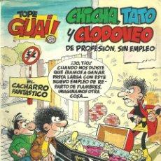 Cómics: TEBEO Nº7 CHICHA, TATO Y CLODOVEO- EL CACHARRO FANTÁSTICO. Lote 48648010
