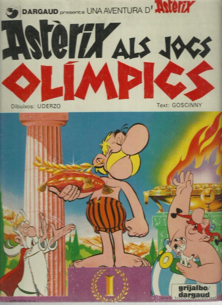 ASTERIX EN CATALAN-ALS JOCS OLIMPICS (Tebeos y Comics - Grijalbo - Asterix)