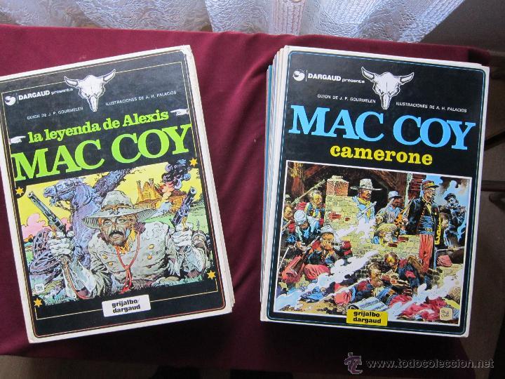 MAC COY. COLECCIÓN COMPLETA 21 TOMOS. PALACIOS Y GOURMELEN. GRIJALBO/DARGAUD/ NORMA 1978-1999 TEBENI (Tebeos y Comics - Grijalbo - Mac Coy)