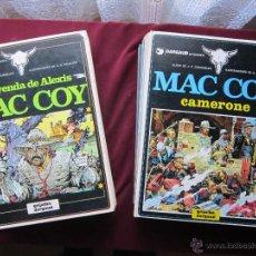 Cómics: MAC COY. COLECCIÓN COMPLETA 21 TOMOS. PALACIOS Y GOURMELEN. GRIJALBO/DARGAUD/ NORMA 1978-1999 TEBENI. Lote 48660775