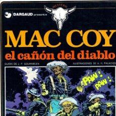 Cómics: MAC COY Nº 9. TAPAS DURAS. 1976. -EL CAÑON DEL DIABLO -. PRIMERA EDICION. PERFECTO ESTADO. Lote 48723545