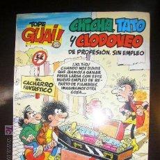 Cómics: TOPE GUAI! CHICHA TATO Y CLODOVEO Nº 7 EL CACHARRO FANTASTICO. Lote 23337380