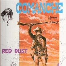 Cómics: COMANCHE - RED DUST - Nº 1 - HERMANN - ED GRIJALBO - EDICIONES JUNIOR. Lote 48757556
