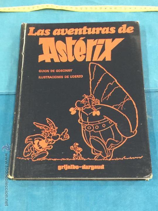 LAS AVENTURAS DE ASTERIX. GRIJALBO-DARGAUD, BARCELONA, 1980. TOMO 2 (Tebeos y Comics - Grijalbo - Asterix)