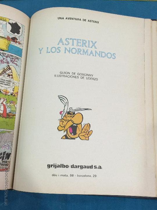 Cómics: Las aventuras de Asterix. Grijalbo-Dargaud, Barcelona, 1980. Tomo 2 - Foto 4 - 48777896