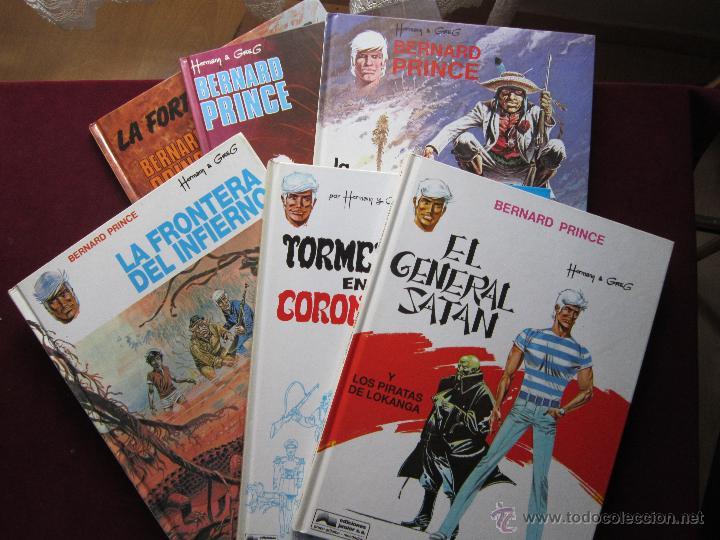 BERNARD PRINCE COMPLETA 6 TOMOS. HERMANN & GREG. JUNIOR GRIJALBO 1992 1993.TEBENI COMO NUEVOS (Tebeos y Comics - Grijalbo - Otros)