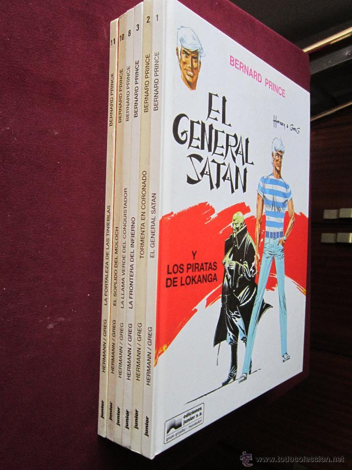 Cómics: Bernard Prince Completa 6 tomos. Hermann & Greg. Junior Grijalbo 1992 1993.tebeni Como nuevos - Foto 2 - 48821838