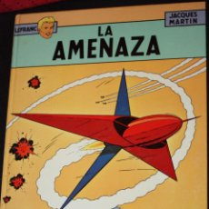 Cómics: LEFRANC Nº 1 :LA AMENAZA (DE JACQUES MARTIN ). JUNIOR. Lote 48953338