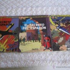 Cómics: LAS AVENTURAS DE BLAKE Y MORTIMER N.9-10-11 -EL SECRETO DEL ESPADON -1ª-2ª-3ª PARTE COMPLETA. Lote 53642349