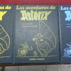 Cómics: TRES TOMOS DE LAS AVENTURAS DE ASTERIX. Lote 49057991