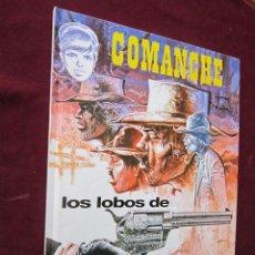 Cómics: COMANCHE Nº 3 LOS LOBOS DE WYOMING. HERMAN & GREG. JUNIOR GRIJALBO. 1ª ED. 1992 TAPA DURA. Lote 49377439
