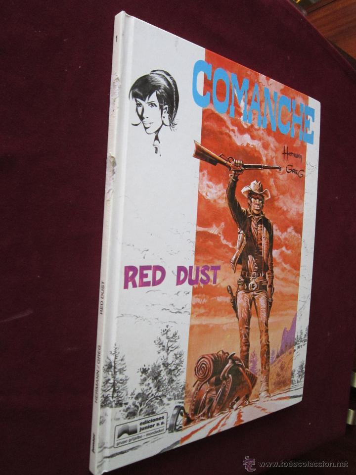 COMANCHE Nº 1 RED DUST. HERMAN & GREG. JUNIOR GRIJALBO. 1ª ED. 1990 TAPA DURA (Tebeos y Comics - Grijalbo - Comanche)