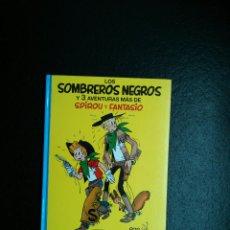 Cómics: SPIROU Y FANTASIO Nº 31 LOS SOMBREROS NEGROS ED.GRIJALBO POR FRANQUIN Y JIJE. Lote 49388085