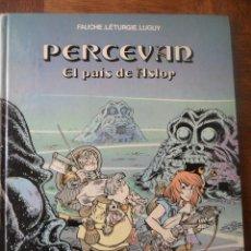 Cómics: PERCEVAN Nº 4 - EL PAIS DE ASLOR - TAPA DURA, GRIJALBO EDICIONES. Lote 49509972