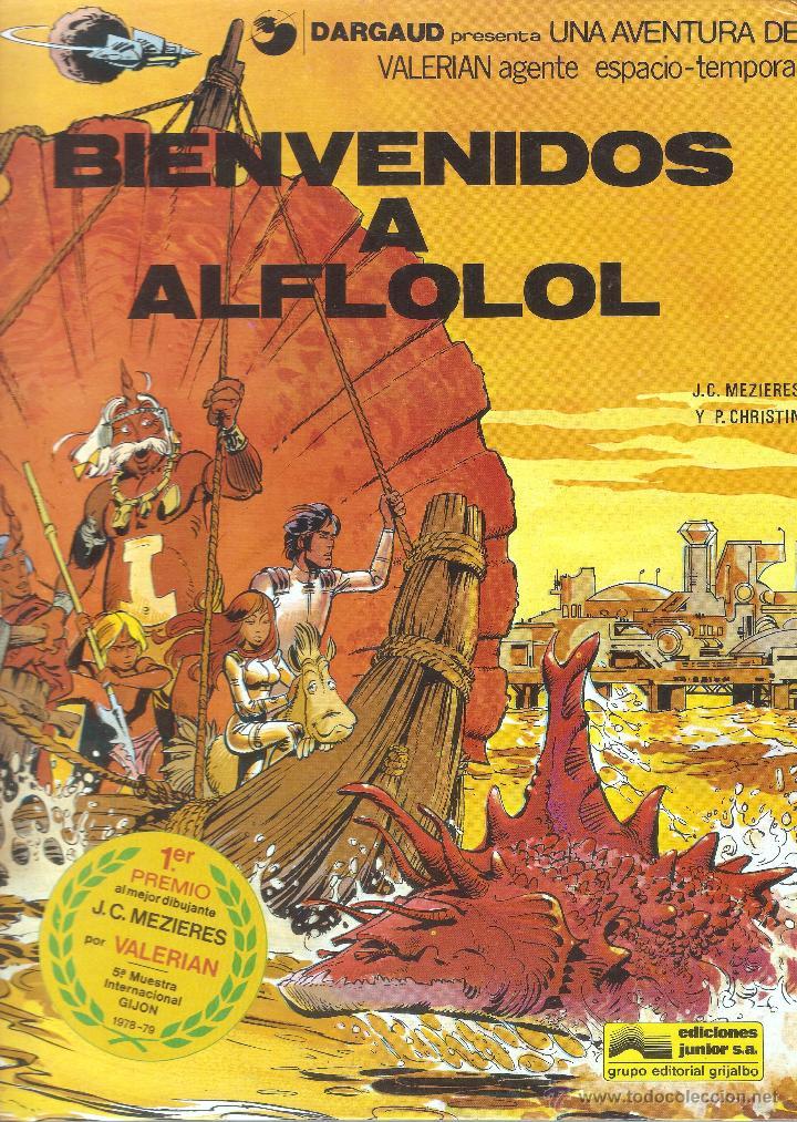 VALERIAN AGENTE ESPACIO-TEMPORAL - Nº 3 - BIENVENIDOS A AFLOLOL - GRIJALBO - 1978. (Tebeos y Comics - Grijalbo - Valerian)